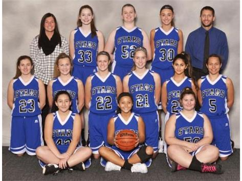 2017-18 Freshmen Girls Basketball Team