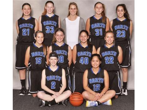 2017-18 Sophomore Girls Basketball Team