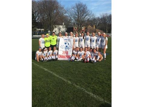 Congratulations to the North Star girls soccer team on winning their 2nd straight PepsiCo Tournament Championship