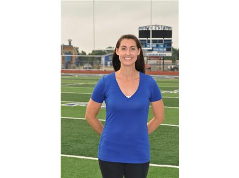 Drill Team Head Coach Andrea Leith