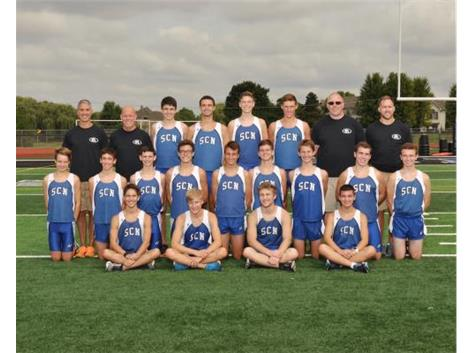 Boys Cross Country Team 2018