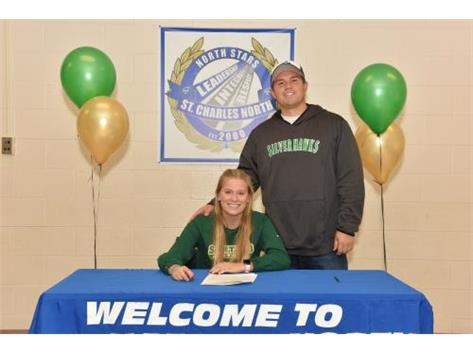 Congratulations to Grace Sobieski on her signing to St. Leo University!