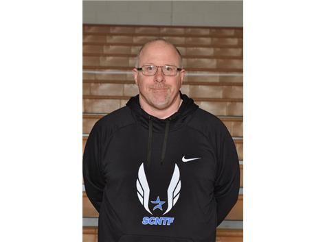 Boys Track Head Coach Kevin Harrington