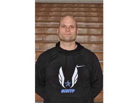 Boys Track Asst. Coach Ken Kemeny