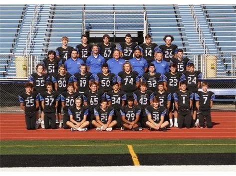 2019 Soph Football Team
