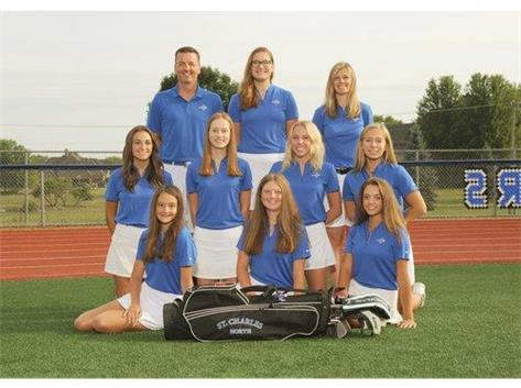 2019 Girls Varsity Golf Team