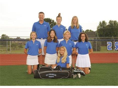 2019 Girls JV Golf Team