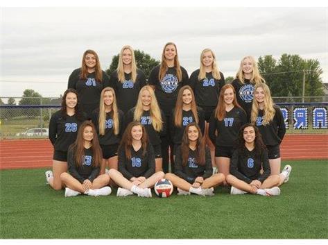 2019 Girls JV Volleyball Team
