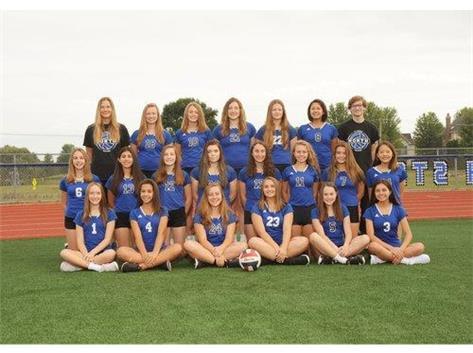 2019 Girls Freshmen Volleyball Team