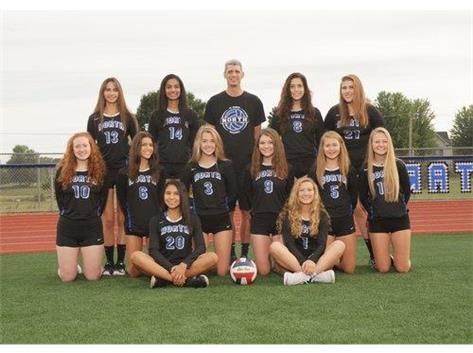 2019 Girls Soph Volleyball Team