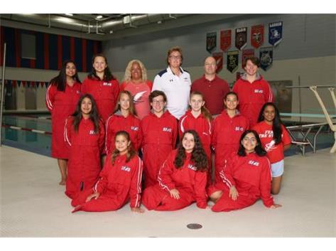 JV Swim Team 2018