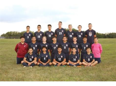 JV Soccer Team 2018