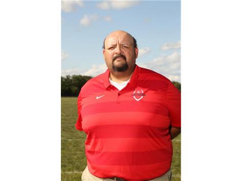 Coach Sergio Avina
