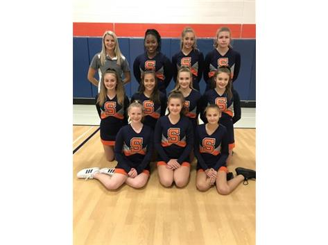Freshmen Co-Ed Cheer