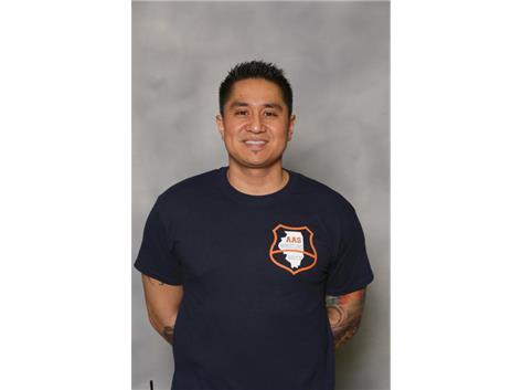 Athletic Trainer Reggie Castillo