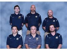 2017-18  BBB Coaches: 1st Row (L-R): Head Coach Ryan Vasquez, Asst. Varsity Coach Jeff Neubauer, Head Sophomore Coach Joe Ryan,  2nd Row (L-R): Asst. Varsity Coach Keith Conklin, Asst. Varsity Coach Thom Shore, Head Freshmen Coach Geoff Devine