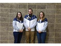 2019-20 Boys Swimming Coaching Staff (L-R): Asst Coach Jamie Ruiz, Head Coach Kyle Ruiz, Asst Coach Mary Sue Kelly