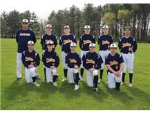 2020-21 Freshman Baseball Front Row (L-R): Kaden Shank, Dezmond Minkel, Miles Nawrocki, Cale Cushman, Mason Smithee 2nd Row (L-R): Head Coach Bob Stone, Dylan Ottens, Tyler Kuhn, Cale Ledergerber, Rowan Workman, Jose Sosa