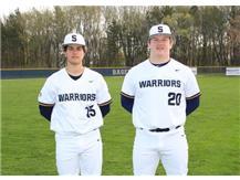 2020-21 Baseball Captains (L-R): Colt Adams & Ryan Heffelfinger