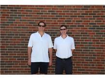 2021 Girls Tennis Coaches (L-R): Asst Coach Kip Aitken & Asst Coach Mike Gottemoller  Not pictured: Head Coach Kelly Reynolds & Asst Coach Julie Aitken