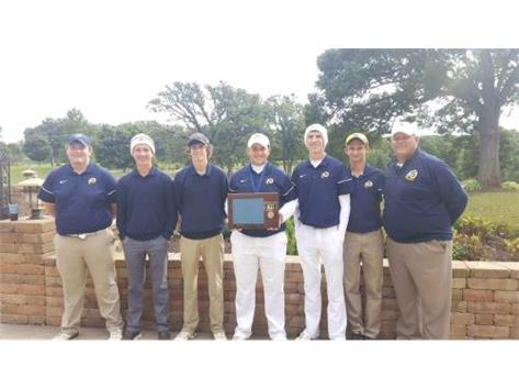 Boys Golf - Conference & Regional Champs!