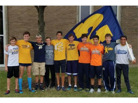 Boys Cross Country - state bound for the 1st time since 1983!