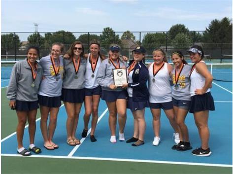 Girls Tennis Wins Harlem Invite!