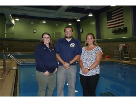 2018 Girls Swimming Team