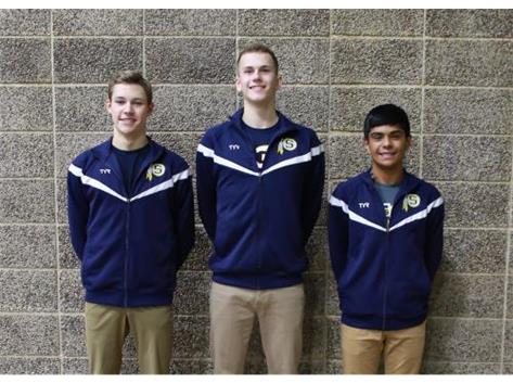 2019-20 Boys Swimming Captains