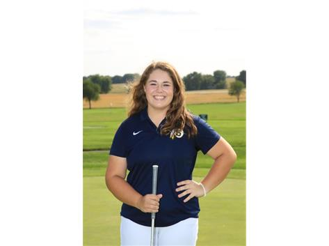 2020 Girls Golf Captain