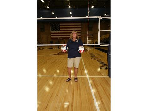 2021 Varsity Volleyball Assistant Coach Barb Wolf-Cotes