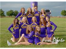 2017 JV Cheer Team