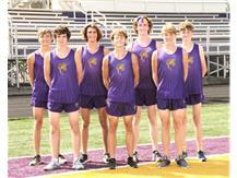 2021-2022 Boys Cross Country Team