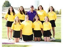 2021-2022 Girls Golf Team