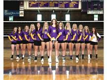 2021-2022 Varsity Volleyball Team