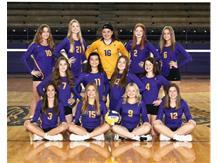 2021-2022 Freshman Volleyball Team