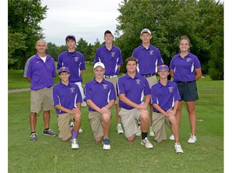 2016 THS Golf Team