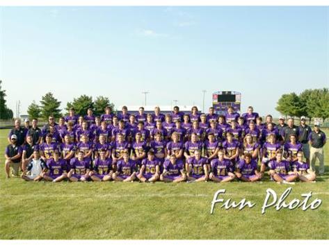 2017 Varsity Football Team