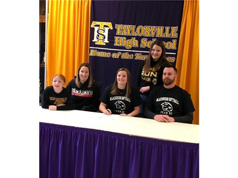 Haley headed to Blackburn College
