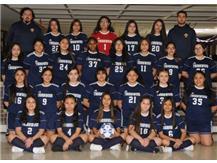 2018 - 2019 Girls Co-Op JV Soccer Team