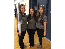 Bridget Stumbris, Tabitha Mucci, and Arianna Castellan