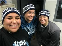Trinity is lucky to have softball coaches like these 3!
