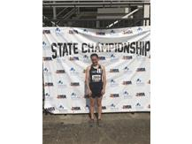 What a season Emma Creviston '18!!!  Congrats on a great season and career!  New school record in the 1600m run and 10th in STATE with a time of 5:19.93!!