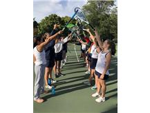 Tennis Senior Night 2018