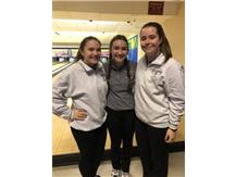 Tabitha Mucci, Alyssa Bennett & Bridget Stumbris having fun at our first invite of the year!