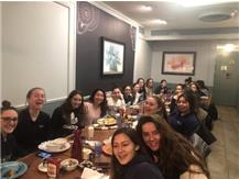 Early morning bfast for soccer for the game later!