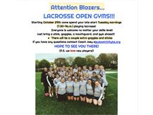Lacrosse Open Gyms are HERE!