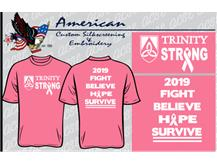 """If you order a shirt, you must pay for it and pick it up in the CAF on Monday-Wednesday (Sept 30- Oct 2) during 3a/b. You can wear your Pink Out Shirt to school on Thursday with the rest of your full uniform!   The last day to order a shirt is Monday, September 24 by the end of the school day!"""""""