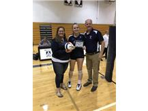 Congratulations to Emma Jacobs on her 1000th Kill!