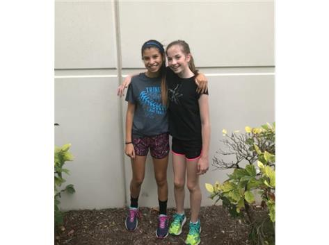 Congrats to Larissa Cano('21) and Annabel Halloran('21) on being named Athletes of the Meet!  They both ran a 1 minute 30 second PR at the Niles West Pat Savage Invite!  Great job Lady Blazers!